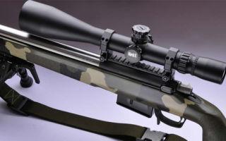 Выбираем оптический прицел на винтовку