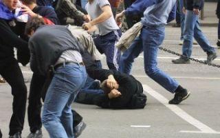 Статья за побои: что будет, УК РФ 115, избиение несовершеннолетнего ребенка, статья за драку, групповое избиение, ответственность
