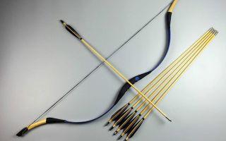 Как сделать лук для стрельбы: стрелы своими руками, из какого дерева, самодельный, мини, тетеву, охотничий, мощный