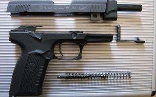 Травматический пистолет Ярыгина Грач МР 353: патроны 45 Rubber, отзывы, цена, кобура и размер ствола