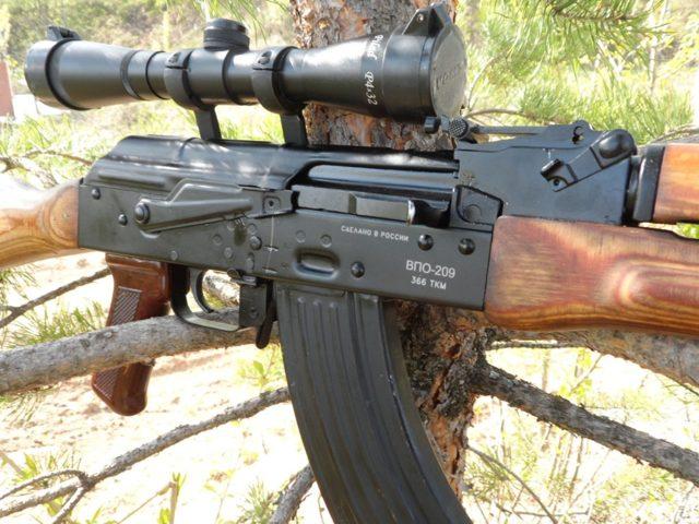 Карабин ВПО-208 : цена и характеристики, тюнинг, видео на охоте