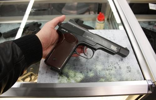 Травматический пистолет Стечкина - фото и характеристики