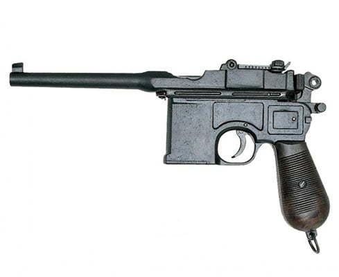 Немецкий пистолет Мauser c96: маузер к 96, сколько патронов в магазине, калибр, все модели и фото
