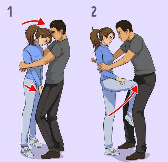 Правила самообороны для девушек