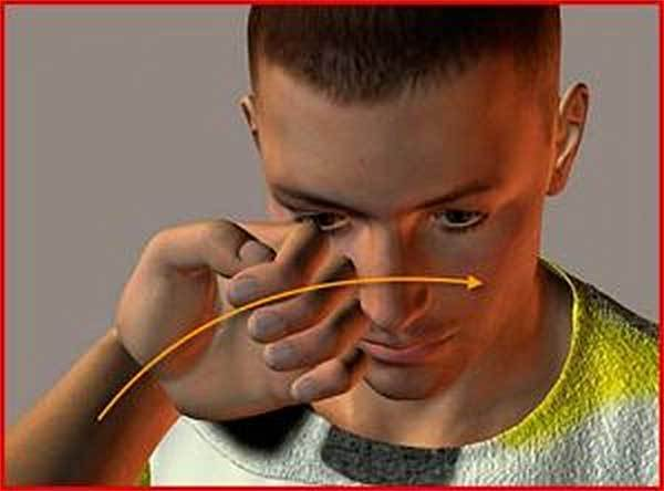 Где расположены болевые точки на теле человека - схема